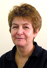 Physiotherapist, Sandra Lewis